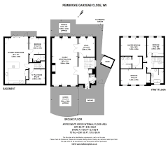 88m Career Map 4 Bedroom Pembroke Gardens Close London W8 Property For Sale