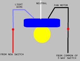 wiring diagram for ceiling fan light doityourself com community