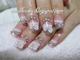 bridal nails dizzy miss lizzi