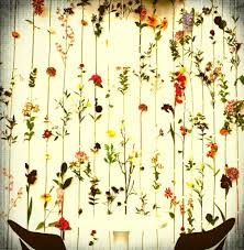 home decoration decorative cheap floral curtain design for