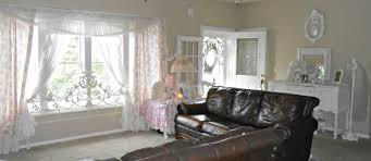 Grey Shabby Chic Curtains by Olivia U0027s Romantic Home Shabby Chic Living Room