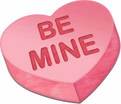 valentines day heart candy be mine heart candy picture