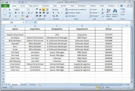 Creating A Spreadsheet Create Organization Chart In Visio 2010 From Excel Spreadsheet