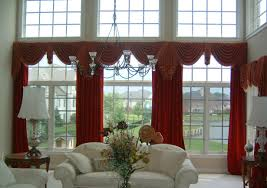 Living Room Window Treatments For Large Windows - decor window treatments for wide windows stunning window