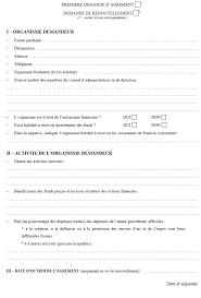 lettre de demande de fourniture de bureau modèle de demande d agrément et de renouvellement prévu aux articles