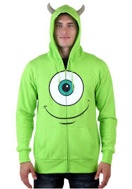 monsters university mike hoodie halloween costumes