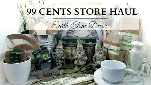 99 cents store haul earth tone home decor u0026 diy supplies youtube