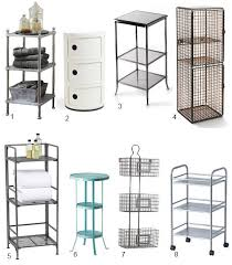 ikea bathroom storage ideas high low 3 tier bathroom storage small space solutions