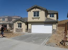 Exterior Garage Door by Exterior Design Exterior Pardee Homes With White Garage Door And