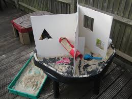 Sand Table Ideas Sectioning The Sensory Table Pre School Play