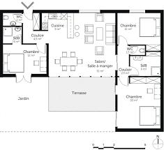 plan maison plain pied 5 chambres plan maison 5 chambres plain pied maison plain pied 3 chambres en