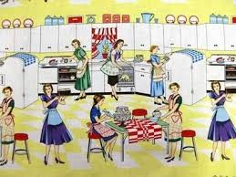 Retro Kitchen Curtains 1950s by 32 Best Kitchen Curtains Vintage Style Images On Pinterest