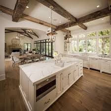 open floor plan kitchen best 25 open floor plan homes ideas on open floor