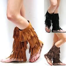 tall gladiator sandals ebay