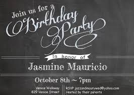 birthday party free birthday invitation templates for adults