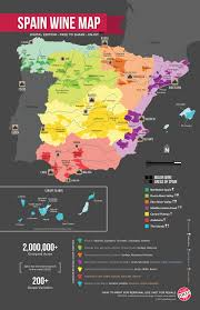 Spain On A World Map by Map Of Spain Wine Regions Wine Folly