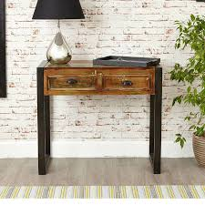 Reclaimed Wood Console Table Impressive Console Table Fascinating Shoreditch Living Room