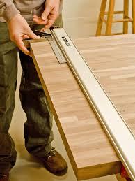 do it yourself butcher block kitchen countertop hgtv measure and cut butcher block