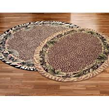 Leopard Kitchen Rug Round Kitchen Rug The Nice Half Round Kitchen Rugs U2013 The New Way