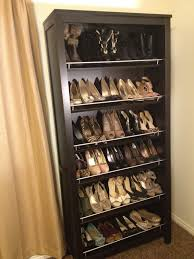 Wall Hung Shoe Cabinet Design Splendid Spinning Shoe Rack To Make Organizing Your Shoes