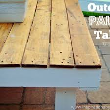 Outdoor Pallet Table Inspirations By D Outdoor Pallet Table