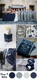 blue and silver wedding ten most gorgeous navy blue wedding color palette ideas for 2016