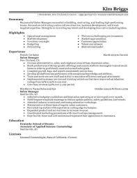 Resume Objective For Restaurant Retail Resume Objective Teller Sample For Head Examples Pics