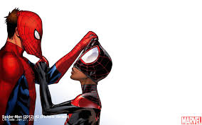 peter parker and miles morales two spider men for two ages inverse