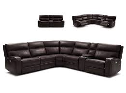 Leather Motion Sectional Sofa Motion Sectional Sofa By J M Furniture Chocolate