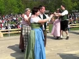 austrian folk at the festival vienna austria