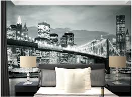 New York City Bedroom Furniture by New York City Wallpaper For Bedroom Photos And Video