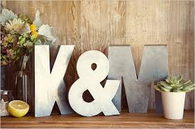 home decor letters big letters for the gift table make great home decor after the