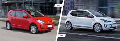 volkswagen old cars volkswagen up facelift old vs new compared carwow