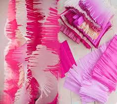 wedding backdrop garland wholesale 3m fringed tissue paper streamers diy paper fringe