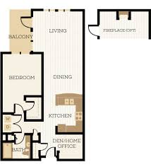 1 bedroom floor plan 1 bedroom apartment floor plans chelsea at juanita village
