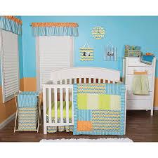 Orange Crib Bedding Blue And Orange Baby Bedding Blue Green And Orange Crib Bedding