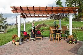 Backyard Shade Structures Ezshade Canopy Patio Shade Canopy Stoltzfus Structures