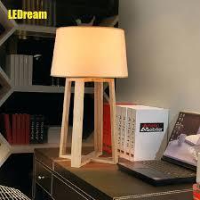 Pc On Desk Or Floor Desk Scandinavian Simple Wooden Solid Wood Desk Lamp Bedside