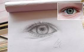 pencil sketch eye 1 by lani is ninja on deviantart