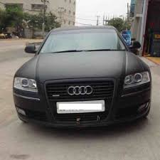 audi s8 matte black 2008 audi a8 3 0 tdi 70 000 km white color wrapped matte black