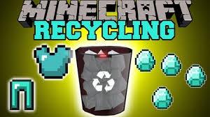 minecraft recycling uncraft u0026 recycle items for materials mod