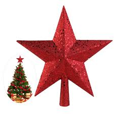 wholesale new year decoration nicexmas 9 inch treasures red