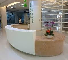 Led Reception Desk Fabulous Modern Office Reception Desk Shop For Receptionist Desks