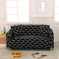 sofa hussen stretch moderne schwarze liebes stretch sofa abdeckungen für wohnzimmer