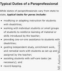 job description for teacher assistant on resume 25 best ideas about teachers aide courses on pinterest mentor