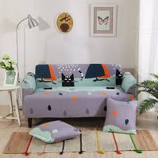 Gray Sofa Slipcover by Online Get Cheap Black Sofa Slipcover Aliexpress Com Alibaba Group