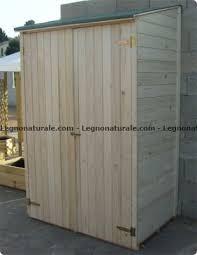 armadi in legno per esterni armadio a pannelli per esterni legnonaturale
