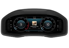 skoda karoq has a fully customizable digital instrument cluster