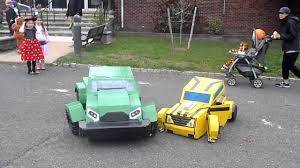 transformers halloween costumes bumblebee and bulkhead transformer costumes youtube