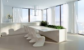 modern dining room designs combined with minimalist decor and